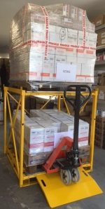 DuoStack with pallet truck