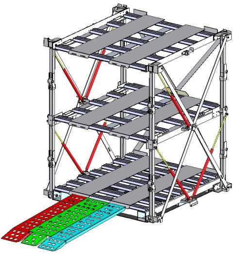 TriStack with ramp
